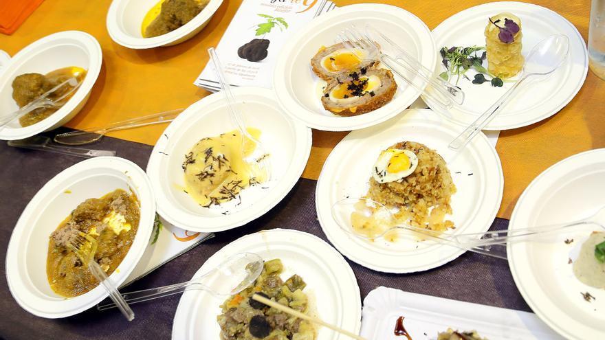 Trufa-te es una degustación de platos elaborados con trufa a precios populares.