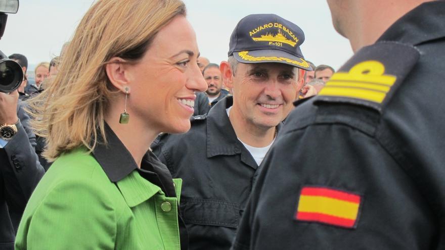 La última entrevista de Carme Chacón: orgullosa de las Fuerzas Armadas y reivindicativa con los derechos de la mujer