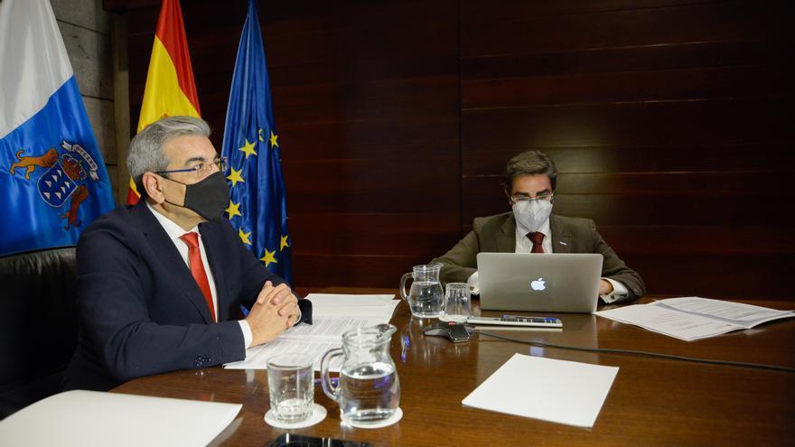 El vicepresidente canario confía en que los presupuestos incluyan las peticiones del Archipiélago