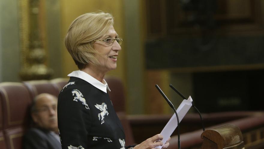 """Rosa Díez celebra que el juez haya """"peleado"""" para juzgar a la infanta pese a los """"obstáculos"""" del Gobierno"""