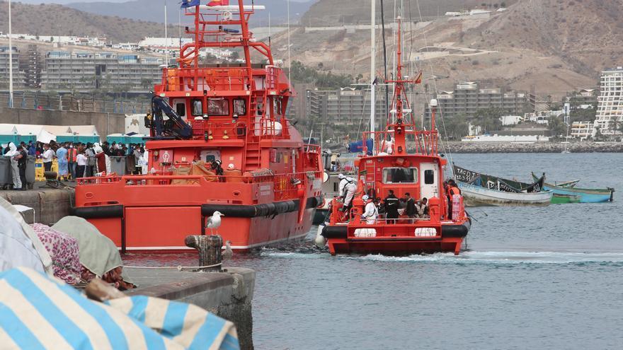 Más de 500 personas migrantes rescatadas este miércoles en Canarias