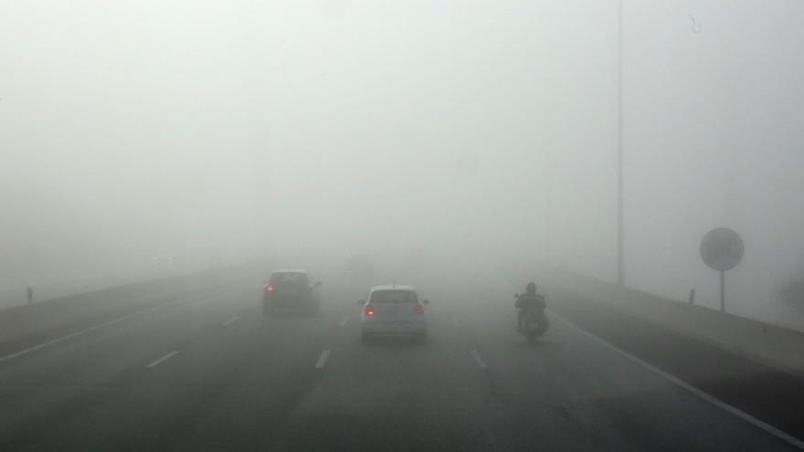 Circulación condicionada en la A-67 en Reinosa por la niebla