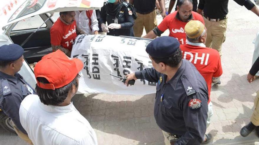 """Qandeel Baloch fue asesinada por su hermano el pasado 15 de julio porque había """"deshonrado a la familia"""" / EFE"""