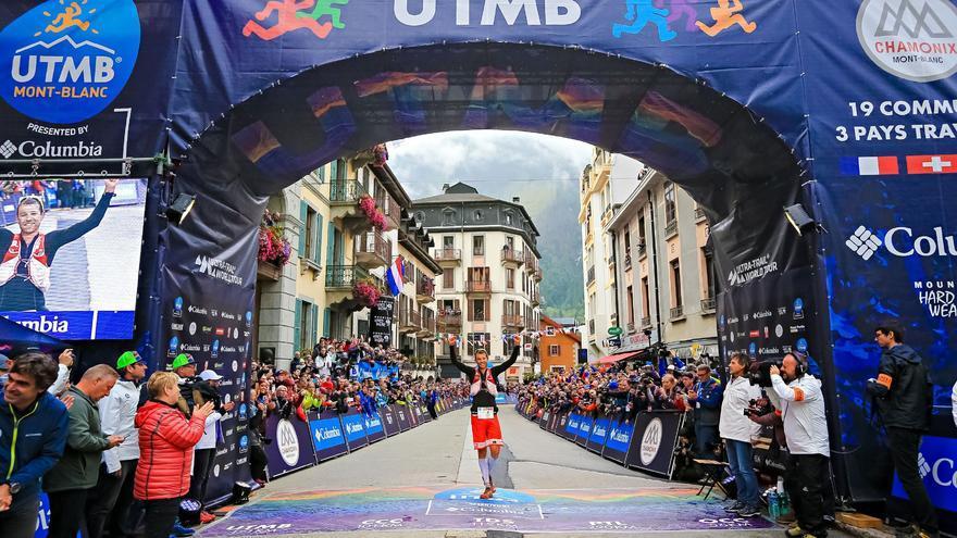 François D'Haene, ganador del la XV edición del UTMB (© Franck Oddoux).