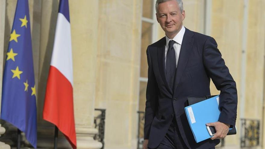 "Le Maire anuncia decisiones ""difíciles"" para bajar el déficit del 3 % en 2017"