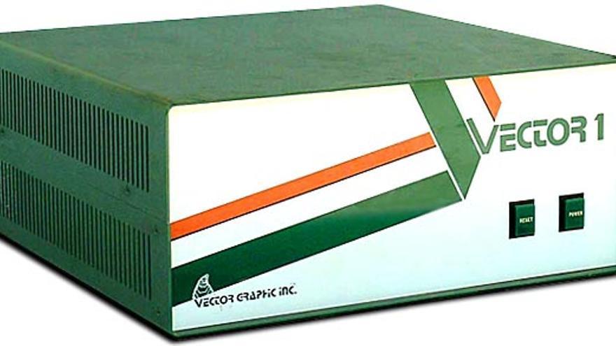 El Vector 1, el primer ordenador comercializado por Vector Graphic