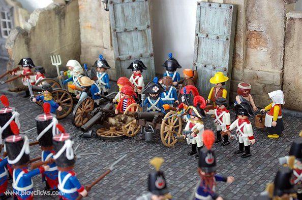 Defensa del cuartel de Monteleón | Foto: playclicks.com