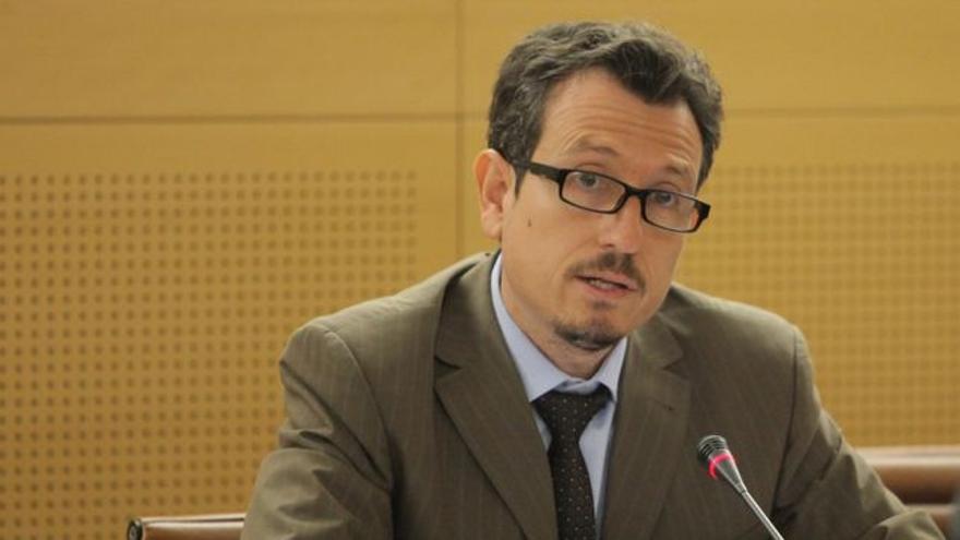 Jesús Morales, consejero insular de Agricultura en Tenerife