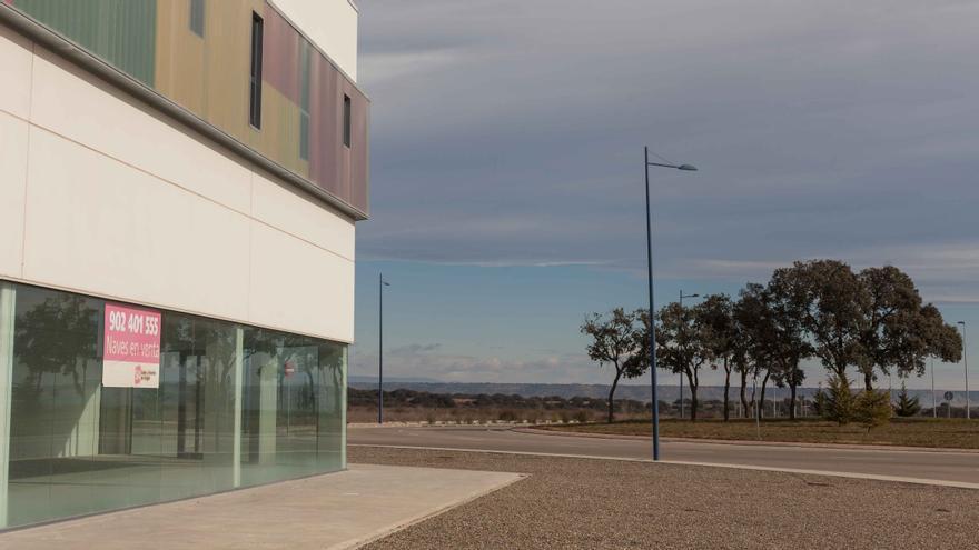 Plataforma logística de Huesca. Foto: Juan Manzanara