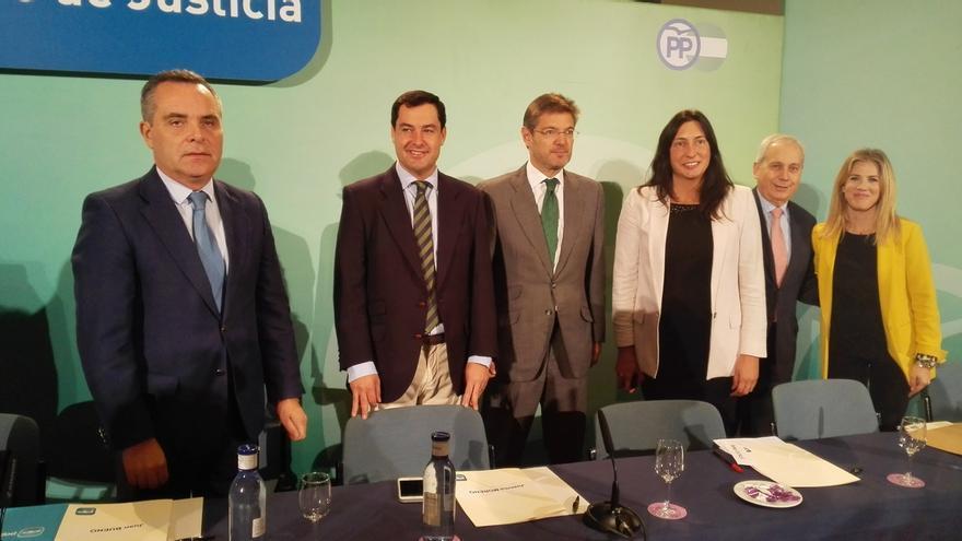 """Moreno reclama un pacto por la justicia y """"desterrar"""" comportamientos como el """"torpedeo"""" de la Junta a la labor de Alaya"""