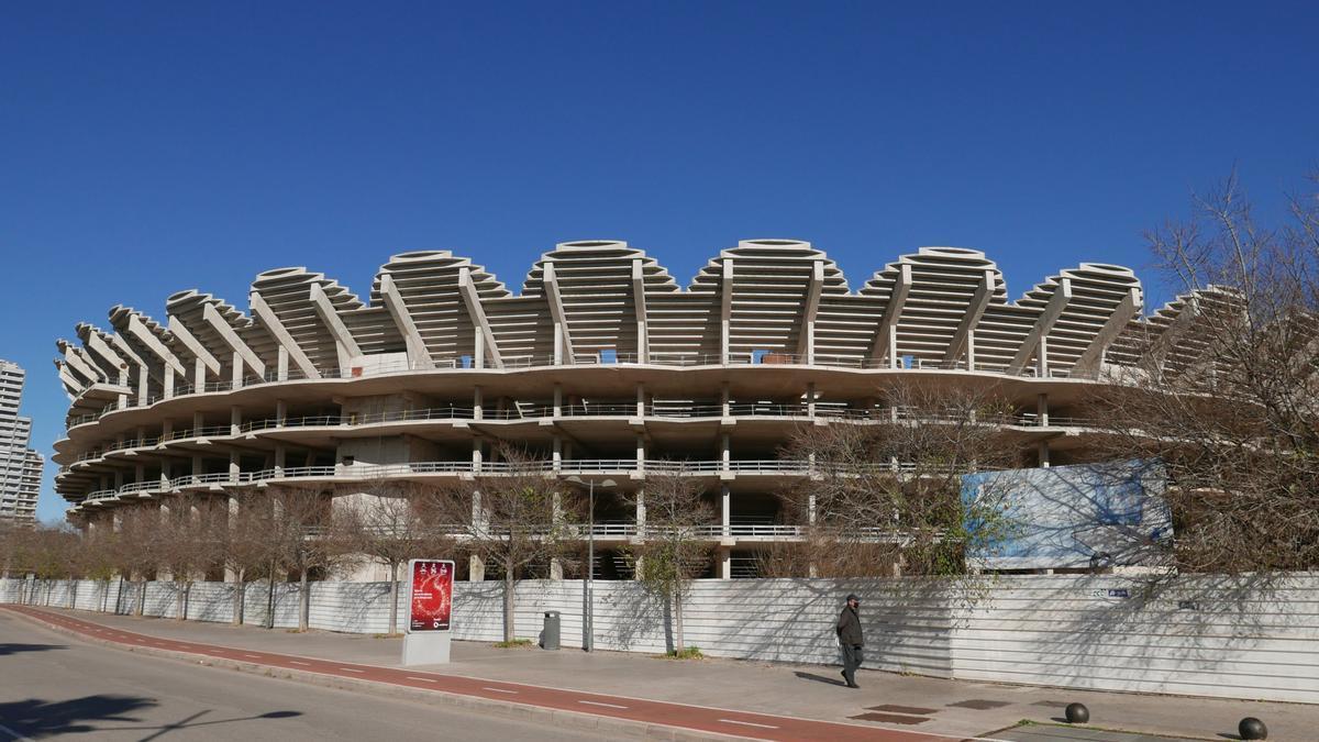 Imagen exterior del nuevo estadio.