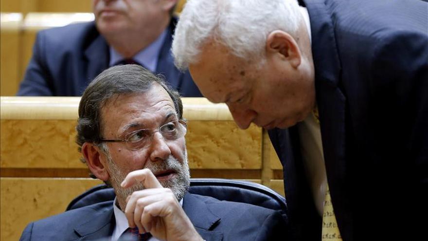 Rajoy y García-Margallo se reúnen en Palma para hablar del conflicto de Gibraltar