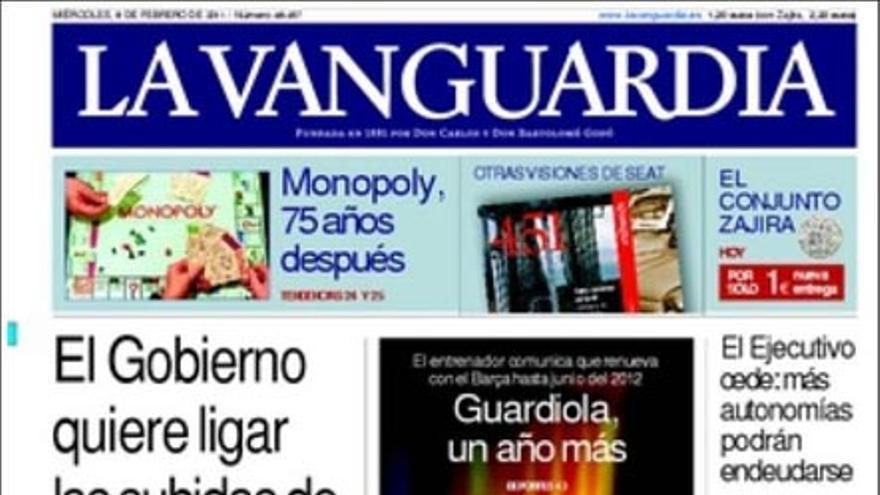 De las portadas del día (08/02/2011) #6