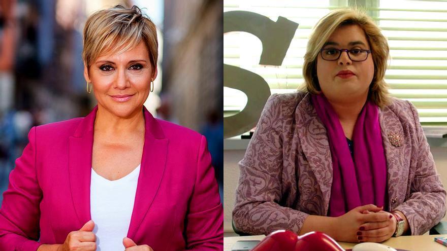 Gloria Serra y Paquita Salas