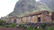 Caserío deshabitado de Las Palmas de Anaga, en Tenerife