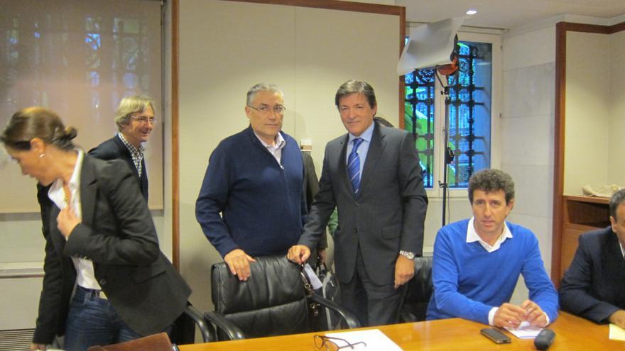 """Presidente de Asturias trabajará por un acuerdo sobre los presupuestos del Principado """"hasta el último día"""""""