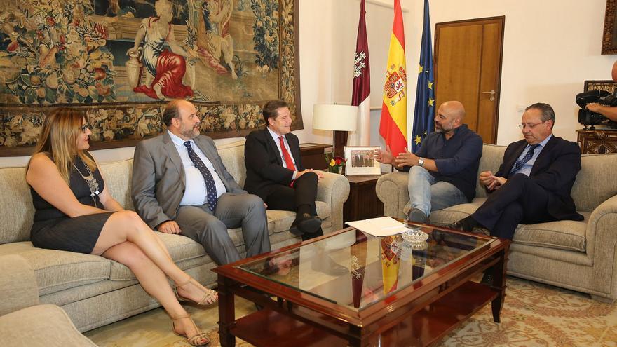Reunión Podemos-PSOE el pasado 13 de julio