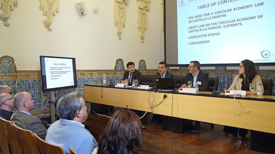 """Ponencia """"La economía circular en Castilla-La Mancha"""" en el 'Policy Forum' organizado por el Consejo Europeo para la Pequeña Empresa y el Espíritu Empresarial (ECSB)"""