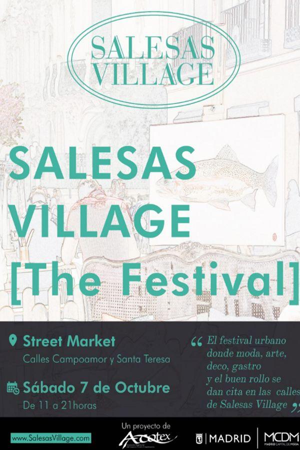 Cartel de Salesas Village [The Festival] octubre 2017