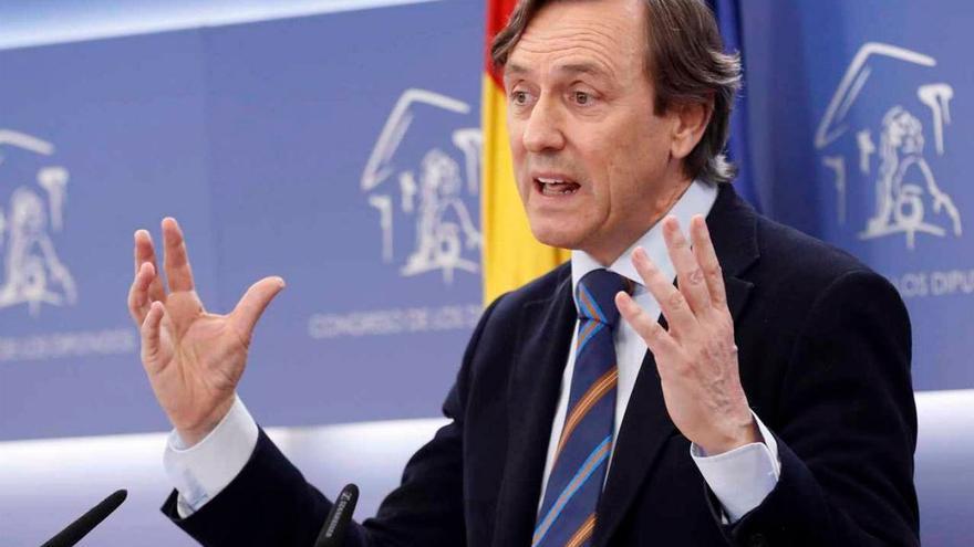 Rafael Hernando, portavoz del PP en el Congreso de los Diputados. (EFE).