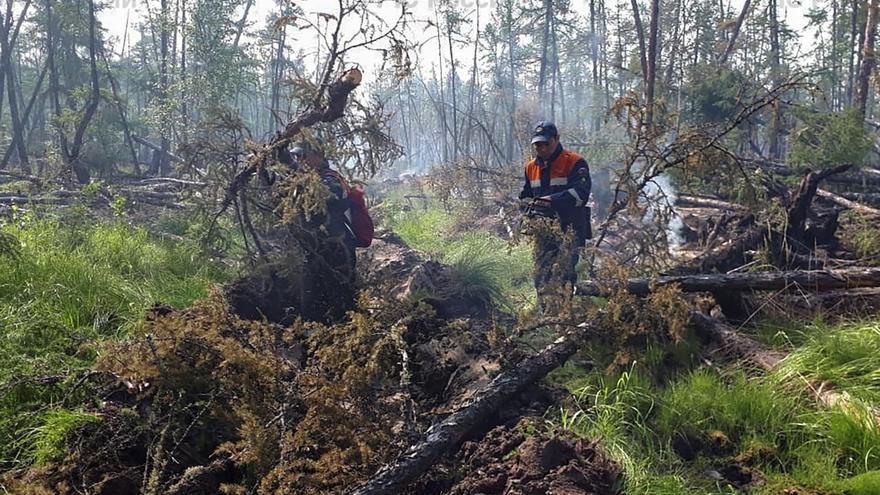 Los incendios forestales en Rusia cubren ya más de un millón de hectáreas