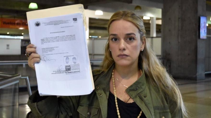 Tintori no podrá acudir a su cita con Rajoy después de que las autoridades le hayan prohibido salir de Venezuela