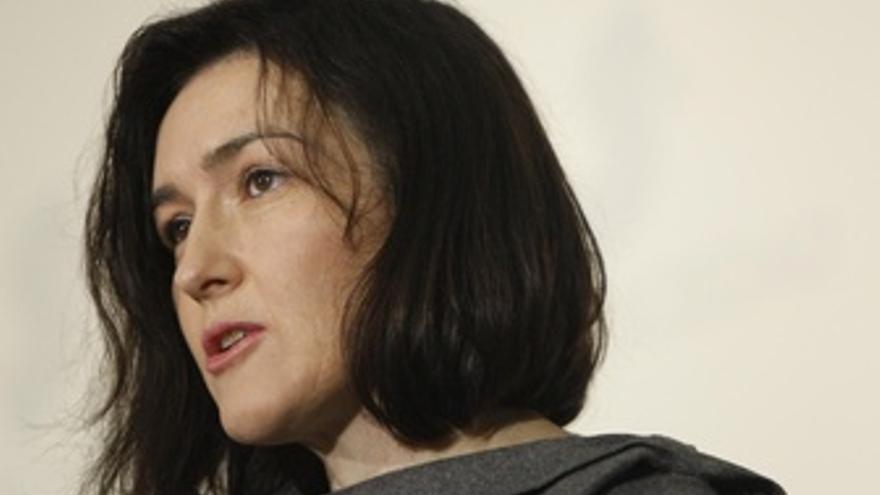 La Ministra De Cultura, Ángeles Gónzalez Sinde