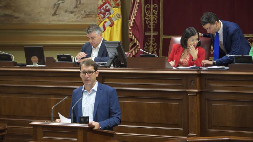 El portavoz del Grupo Parlamentario Socialista, Iñaki Lavandera.
