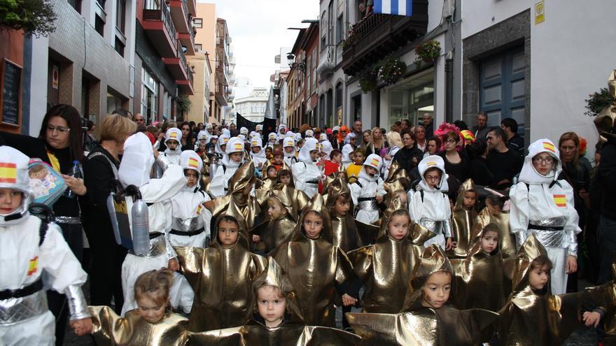 Imagen de archivo de Cabalgata Anunciadora del Carnaval 2016.