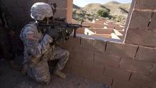 Soldados de Estados Unidos se adiestran junto a legionarios en Almería
