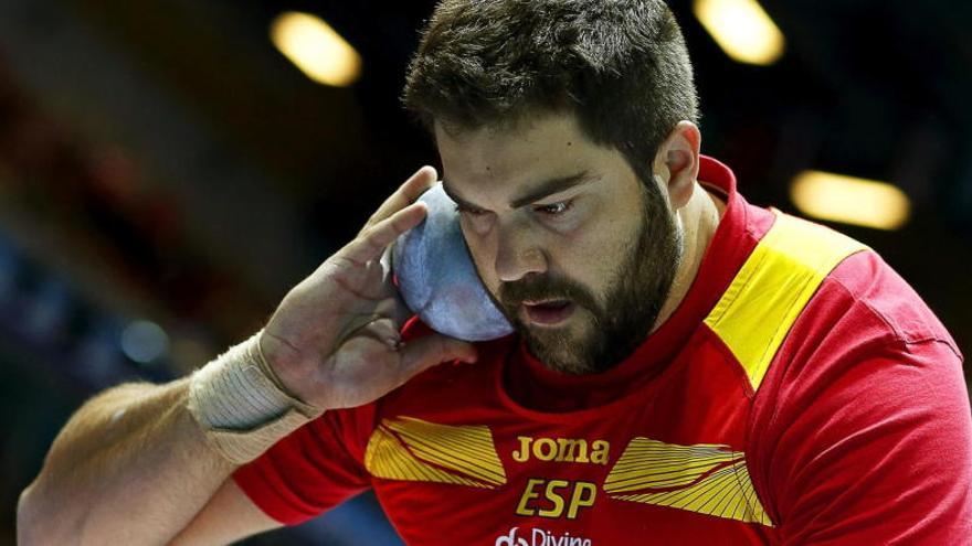 Borja Vivas, el lanzador de peso malagueño