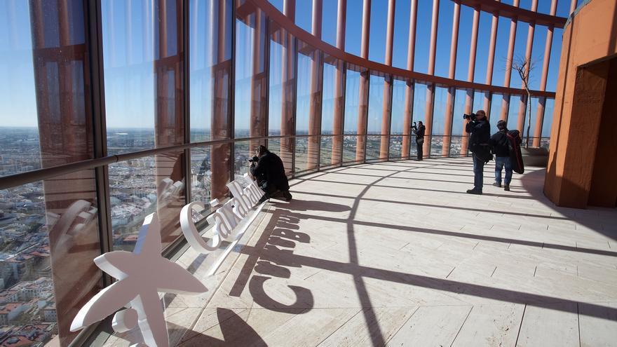 El mirador de Torre Sevilla permite tener excelentes vistas de la ciudad desde una planta 37 (Foto: Luis Serrano).