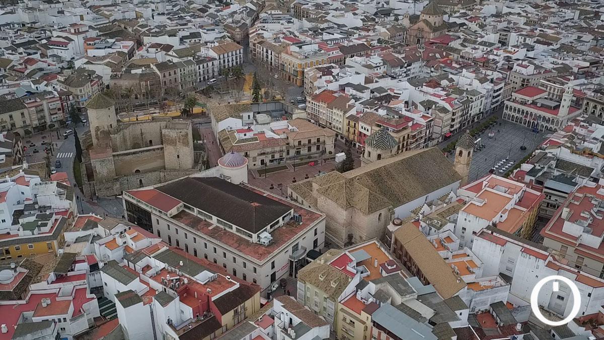 Vista aérea de Lucena