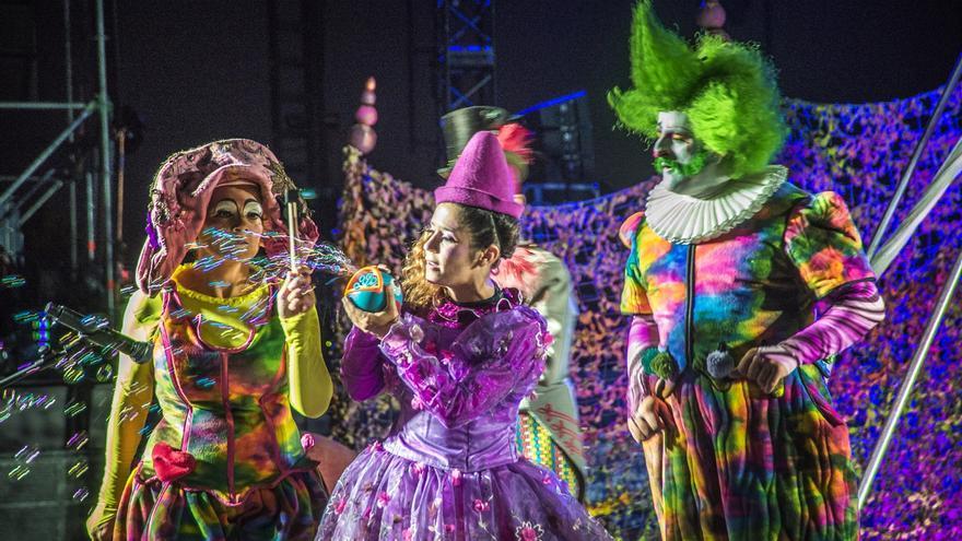 Imagen del espectáculo '¡Alehop! Imagina Circo', viernes y sábado en el Guimerá