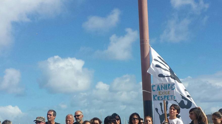 Concentración este domingo en Corralejo.   Movimiento Ciudadano No Petroleras Sí Renovables