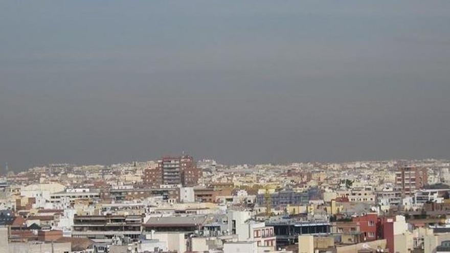 Contaminación del aire en Murcia