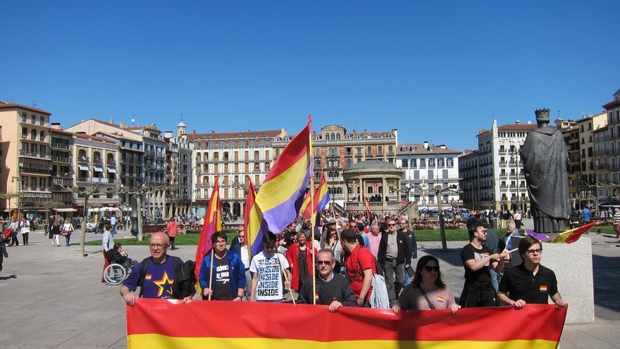 """Una manifestación reclama en Pamplona un """"nuevo proceso constituyente"""" que apueste por la III República"""