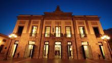Fachada del Teatro Guimerá en Santa Cruz de Tenerife.