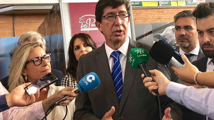 """Marín ve """"correcta"""" la propuesta de RTVA de dos debates 'a cuatro' y celebra que ningún partido tenga """"privilegios"""""""
