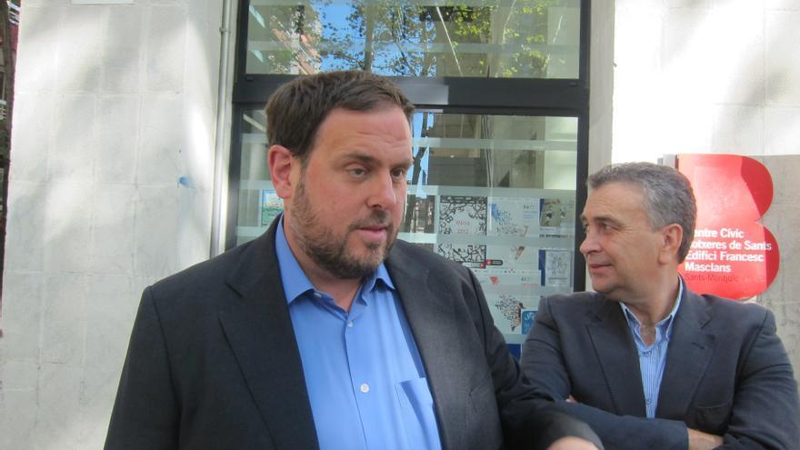 """Junqueras (ERC) responde al Gobierno que las leyes """"no pueden coartar la democracia"""""""
