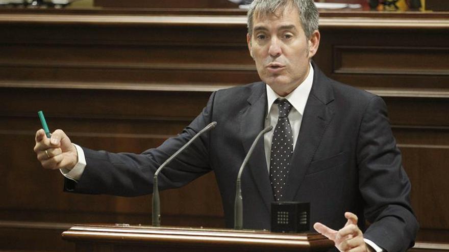 El presidente del Gobierno de Canarias, Fernando Clavijo. EFE/Cristóbal García