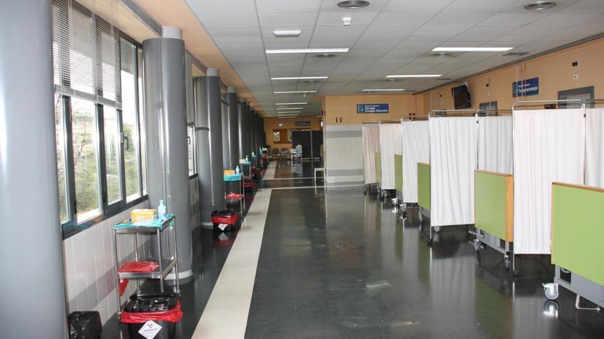Unidades de atención preparadas en el Hospital de Cuenca