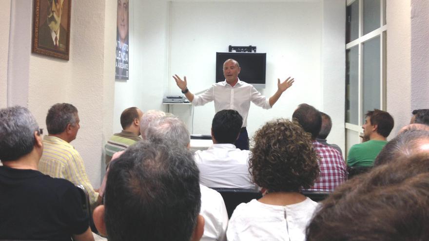 El diputado provincial socialista y alcalde de Faura, Toni Gaspar