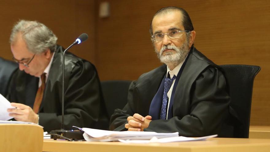 Marcelino López Peraza, exsecretario del Ayuntamiento de Santa Brígida. (ALEJANDRO RAMOS)
