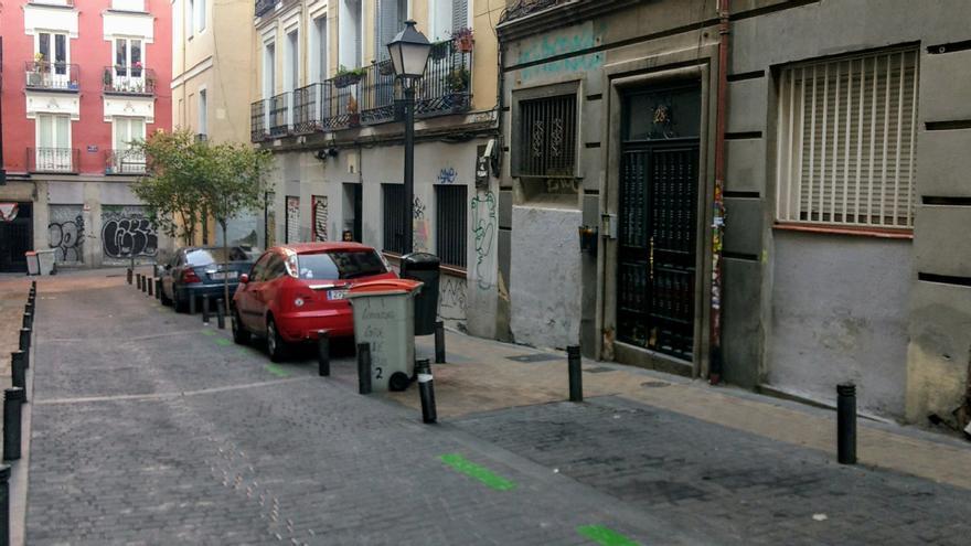 Una vista de la calle Tesoro   SOMOS MALASAÑA
