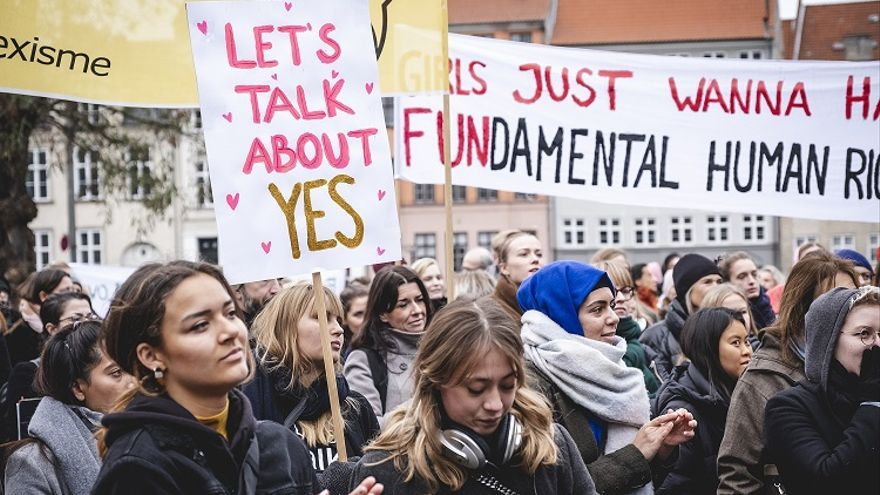 Manifestación en Dinamarca / Jonas Persson