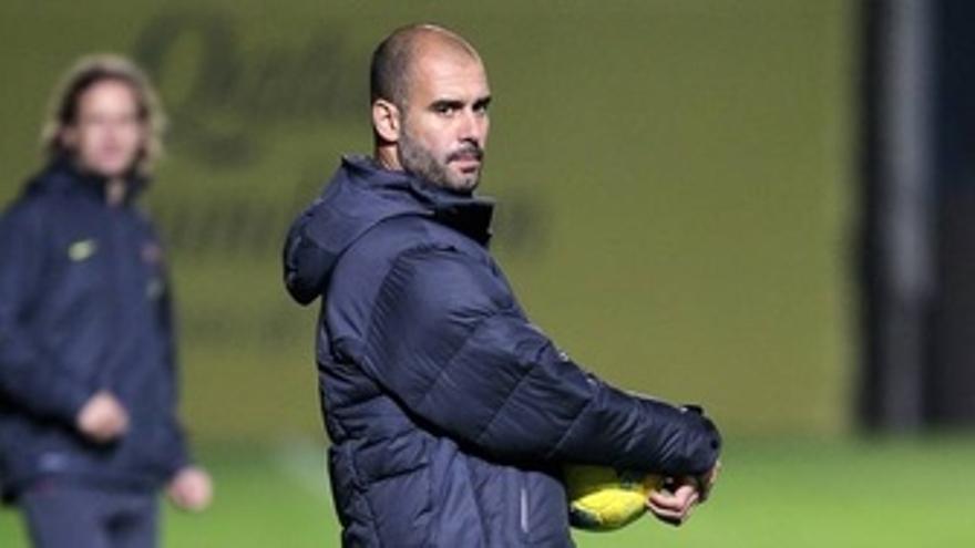 El Entrenador Del FC Barcelona, Pep Guardiola