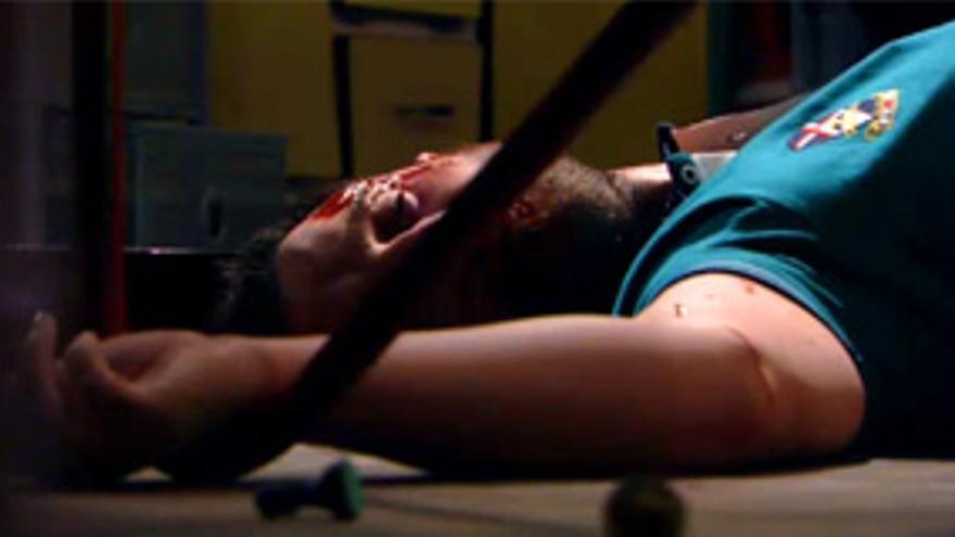 Sangrienta y cómica imagen de la 2ª temporada de 'Byb', a lo 'Walking dead'