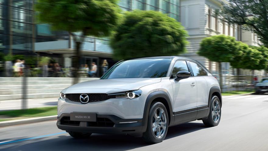 El MX-30, el primer modelo 100% eléctrico de Mazda.