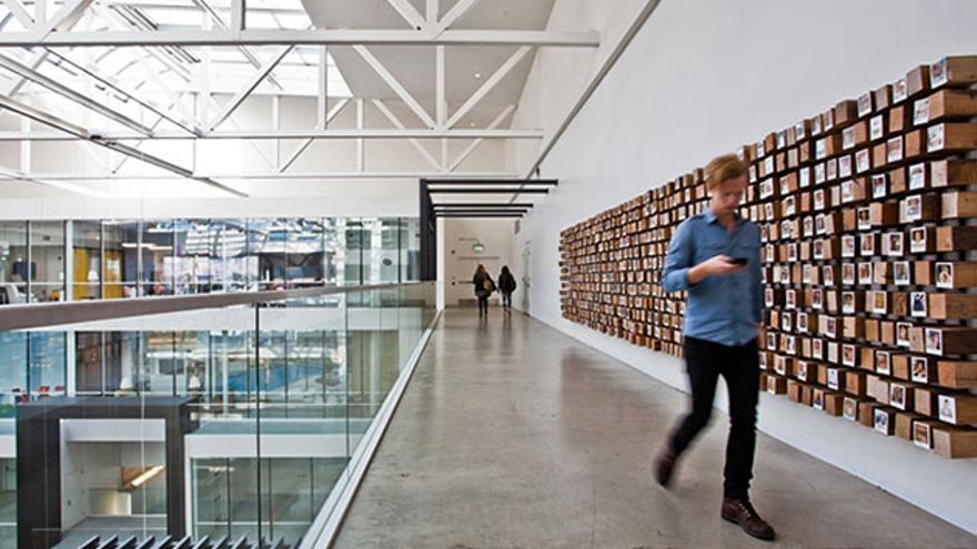 Nuevas oficinas de airbnb en San Francisco. Foto: Highsnobiety.com
